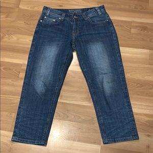 Rock & Roll Cowgirl Jeans - Rock&Roll cowgirl boy friend crop size 26